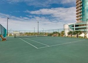 The Palms tennis court